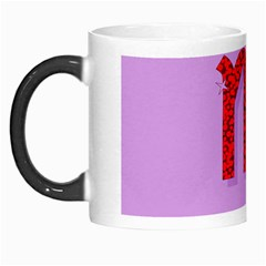 Illustrated Zodiac Purple Red Star Polka Morph Mugs by Mariart