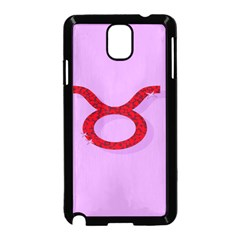 Illustrated Zodiac Purple Red Star Polka Circle Samsung Galaxy Note 3 Neo Hardshell Case (black) by Mariart
