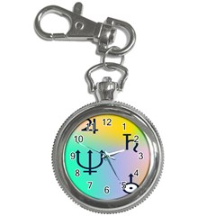 Illustrated Zodiac Star Key Chain Watches