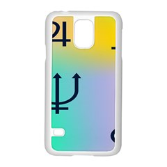 Illustrated Zodiac Star Samsung Galaxy S5 Case (white) by Mariart