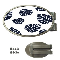 Leaf Summer Tech Money Clips (oval)