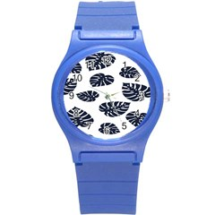 Leaf Summer Tech Round Plastic Sport Watch (s) by Mariart