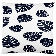 Leaf Summer Tech Large Cushion Case (two Sides) by Mariart