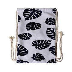 Leaf Summer Tech Drawstring Bag (small) by Mariart