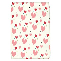 Love Heart Pink Polka Valentine Red Black Green White Flap Covers (l)  by Mariart
