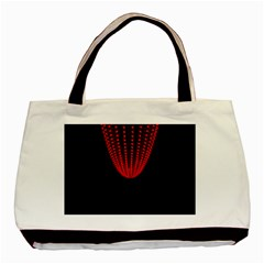 Normal Field Of An Elliptic Paraboloid Red Basic Tote Bag (two Sides)