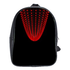 Normal Field Of An Elliptic Paraboloid Red School Bags(large)