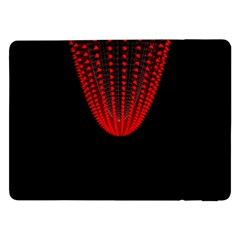 Normal Field Of An Elliptic Paraboloid Red Samsung Galaxy Tab Pro 12 2  Flip Case by Mariart