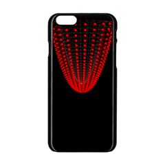 Normal Field Of An Elliptic Paraboloid Red Apple Iphone 6/6s Black Enamel Case by Mariart