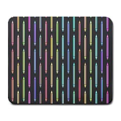 Pencil Stationery Rainbow Vertical Color Large Mousepads