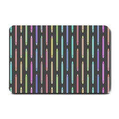 Pencil Stationery Rainbow Vertical Color Small Doormat