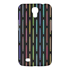 Pencil Stationery Rainbow Vertical Color Samsung Galaxy Mega 6 3  I9200 Hardshell Case by Mariart