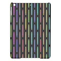 Pencil Stationery Rainbow Vertical Color Ipad Air Hardshell Cases by Mariart