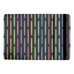 Pencil Stationery Rainbow Vertical Color Samsung Galaxy Tab Pro 10 1  Flip Case by Mariart