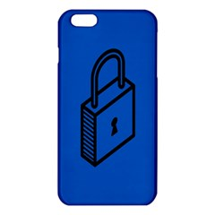 Padlock Love Blue Key Iphone 6 Plus/6s Plus Tpu Case by Mariart