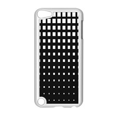 Plaid White Black Apple Ipod Touch 5 Case (white) by Mariart