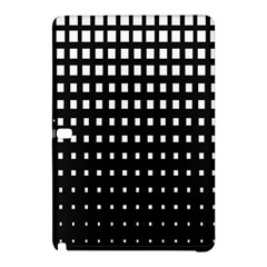 Plaid White Black Samsung Galaxy Tab Pro 12 2 Hardshell Case by Mariart