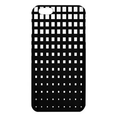Plaid White Black Iphone 6 Plus/6s Plus Tpu Case by Mariart