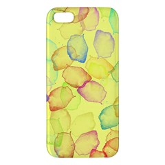 Watercolors On A Yellow Background          Samsung Galaxy Note 3 Leather Folio Case by LalyLauraFLM