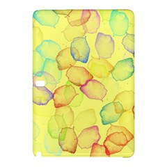 Watercolors On A Yellow Background          Nokia Lumia 1520 Hardshell Case by LalyLauraFLM