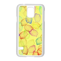 Watercolors On A Yellow Background          Motorola Moto G (1st Generation) Hardshell Case by LalyLauraFLM