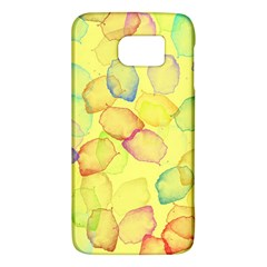 Watercolors On A Yellow Background          Htc One M9 Hardshell Case by LalyLauraFLM