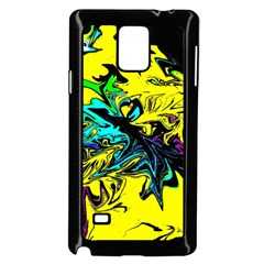 Colors Samsung Galaxy Note 4 Case (black) by Valentinaart