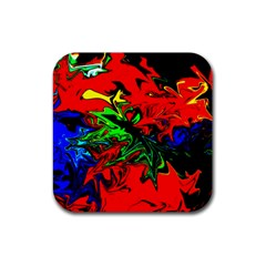 Colors Rubber Coaster (square)  by Valentinaart