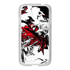 Colors Samsung Galaxy S4 I9500/ I9505 Case (white) by Valentinaart