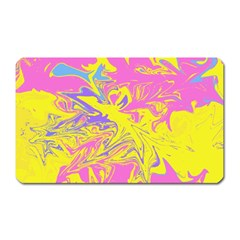 Colors Magnet (rectangular) by Valentinaart
