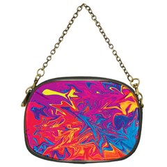 Colors Chain Purses (one Side)