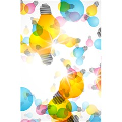 Lamp Color Rainbow Light 5 5  X 8 5  Notebooks by Mariart