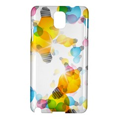 Lamp Color Rainbow Light Samsung Galaxy Note 3 N9005 Hardshell Case by Mariart