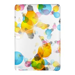 Lamp Color Rainbow Light Samsung Galaxy Tab Pro 10 1 Hardshell Case by Mariart