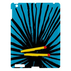 Match Cover Matches Apple Ipad 3/4 Hardshell Case by Mariart