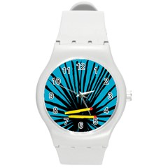 Match Cover Matches Round Plastic Sport Watch (m) by Mariart