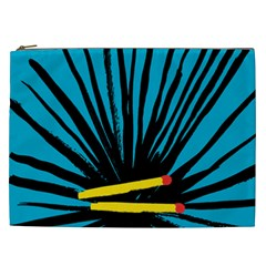 Match Cover Matches Cosmetic Bag (xxl)  by Mariart