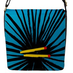 Match Cover Matches Flap Messenger Bag (s) by Mariart