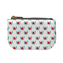 Sage Apple Wrap Smile Face Fruit Mini Coin Purses by Mariart