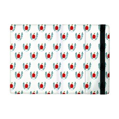 Sage Apple Wrap Smile Face Fruit Ipad Mini 2 Flip Cases by Mariart