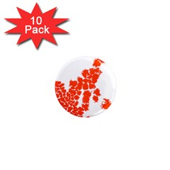 Red Spot Paint 1  Mini Magnet (10 Pack)  by Mariart