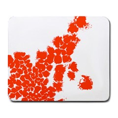Red Spot Paint Large Mousepads