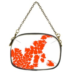 Red Spot Paint Chain Purses (one Side)  by Mariart
