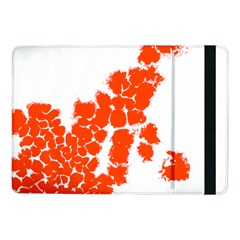 Red Spot Paint Samsung Galaxy Tab Pro 10 1  Flip Case by Mariart
