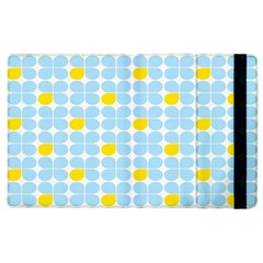 Retro Stig Lindberg Vintage Posters Yellow Blue Apple Ipad 2 Flip Case by Mariart