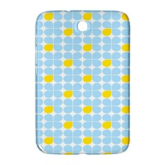 Retro Stig Lindberg Vintage Posters Yellow Blue Samsung Galaxy Note 8 0 N5100 Hardshell Case  by Mariart