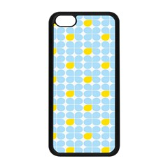 Retro Stig Lindberg Vintage Posters Yellow Blue Apple Iphone 5c Seamless Case (black) by Mariart