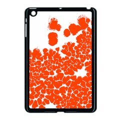 Red Spot Paint White Polka Apple Ipad Mini Case (black) by Mariart