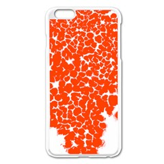 Red Spot Paint White Apple Iphone 6 Plus/6s Plus Enamel White Case by Mariart
