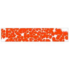 Red Spot Paint White Flano Scarf (small) by Mariart